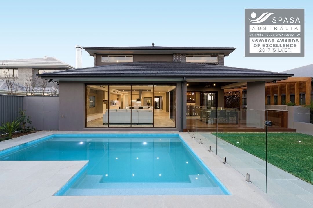 SILVER - Residential Concrete Pool Up To $50K | SPASA Awards 2017